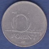 Ungaria 10 forint 1995, Europa