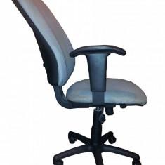 Scaun ergonomic birou - Scaun birou, Stofa, Negru