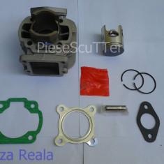 Set cilindri Moto - Set motor ( cilindru ) scuter Aprilia Amico / Sr ( 49cc - 50cc aluminiu )