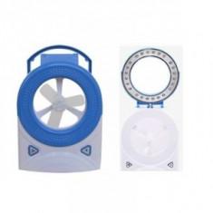 Iluminat decorativ - Mini Ventilator de Birou cu Lampa LED MH5555
