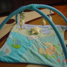 Covoras joaca bebe - Jucarie interactiva, 6-9 luni, Baiat, Altele, Textil