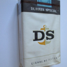 Pachet tigari - PACHET NOU TIGARI ALBANEZE COLECTIE DS DIN ANII 80