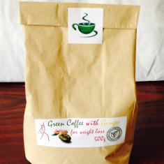Cafea verde cu ghimbir, Macinata