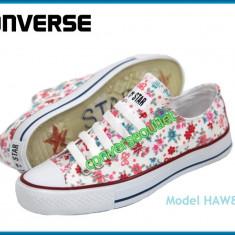 Tenisi Converse All Star - Modele noi HAWAI - Modele florale - Pret special - - Tenisi dama, Marime: 37, 38, 39, 40, Culoare: Din imagine