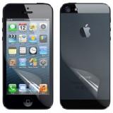 Folie iPhone 5 5S fata spate mata by NEWTOP