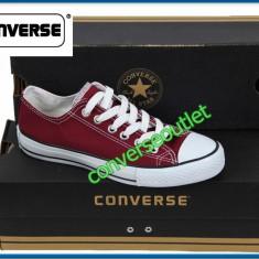 Tenesi Converse All Star - Bordo / Visiniu - Marimi 40 - 44 - LIVRARE GRATUITA - Tenisi barbati, Culoare: Din imagine