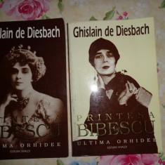 Istorie - Printesa Bibescu 1886-1973/ ultima orhidee( 2 volume)-Ghislain de Diesbach
