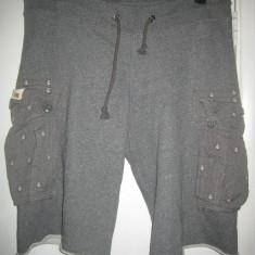 Pantaloni scurti RALPH LAUREN Denim & Supply, marime M-L, impecabili - Pantaloni barbati Ralph Lauren, Marime: M, Culoare: Gri, M, Gri