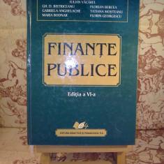 Iulian Vacarel - Finante publice - Carte Contabilitate