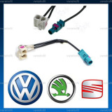 Adaptor antena radio 2 in 1 FAKRA pentru VW RCD RNS 510 (lungime ~10cm) - Elemente montaj audio auto