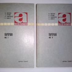 Fortran ( vol. I si vol. II ) - Colectia Automatica Ed. Tehnica 1971
