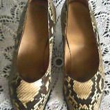 Pantofi piele naturala de sarpe piton