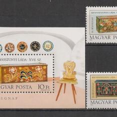 Timbre straine - Ungaria.1981 Ziua marcii postale-Lada de zestre RL.385