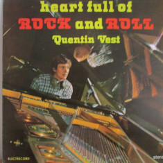 Quentin Vest - Heart Full Of Rock and Roll disc vinil LP - Muzica Rock & Roll electrecord