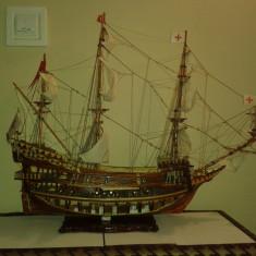Macheta Navala - Corabie - Galion Sfantul Ioan Botezatorul