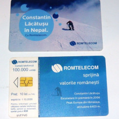 Cartela telefonica - SPORT - CONSTANTIN LACATUSU IN NEPAL - 2007 - 2+1 gratis pt produse la pret fix - RBK4467 - Cartela telefonica romaneasca