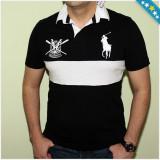 100% AUTENTIC - Tricou Polo RALPH LAUREN - Tricou RALPH LAUREN - Tricou Barbati - Tricouri Originale RALPH LAUREN, Marime: S, Maneca scurta, Bumbac