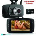 Camera Video DVR Auto, Full HD 1080P + Card 8GB, Night Vision, Senzor Miscare