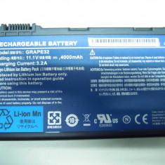 Baterie laptop Toshiba, 4000 mAh - Baterie Acumulator Laptop Originala Acer TravelMate 5220 5220G 5520 5230 5310 5520G 5530 5320 5330 Model: GRAPE32 4400 mAh 47.5Wh Transport Gratuit!