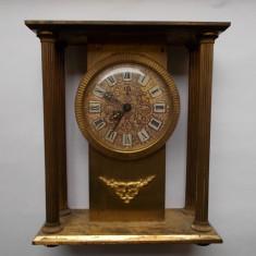 Ceas de mana - Ceas de colectie UTI, nefunctional, frumos ornamentat, din alama, vezi descrierea