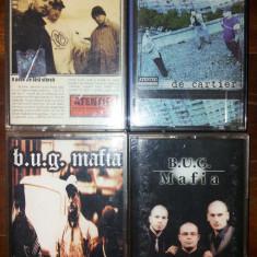 B.U.G. Mafia - Deasupra tuturor/De cartier/Dupa blocuri/Intotdeauna pentru totdeauna - Muzica Hip Hop cat music, Casete audio