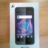 Telefon Allview, Negru, 4GB, Neblocat, Dual SIM, Dual core - Allview P6 Stony Dual Sim cu Flip Cover