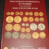 Carte hobby - Gran subasta numismatica en Madrid - 23 octombrie 2010