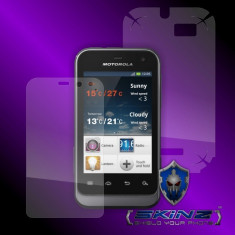 Folie de protectie - MOTOROLA XT320 XT321 DEFY MINI - Folie SKINZ Protectie Full Body Ultra Clear HD, Invisible shield, profesionala, husa tip skin, carcasa, ecran, display