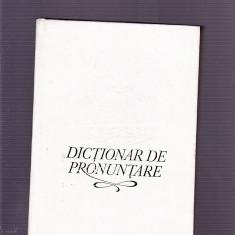 DICTIONAR DE PRONUNTARE - Dictionar sinonime