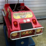 Masinuta electrica copii Altele, 6-8 ani, Baiat, Rosu - Masinute cu fise- kidy rides0 masinute divertisment