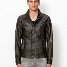 Geaca barbati - Jacheta geaca BERSHKA jeans originala marimea M gen zara pull