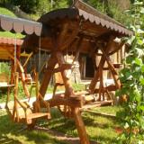 Banci de gradina - Balansoar rustic de vanzare