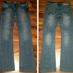 Pantaloni barbati, L, Lungi - Pantaloni jeans SUBLEVEL L cred ca sunt de dama moderni casual transport inclus
