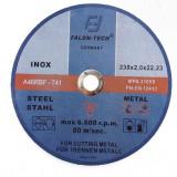 Disc abraziv de taiat 230 x 2,0 mm pentru inox si metal