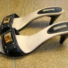 Papuci dama marca Zara marimea 37 ( locatie raft 6 / 11 ), Marime: 37, Negru