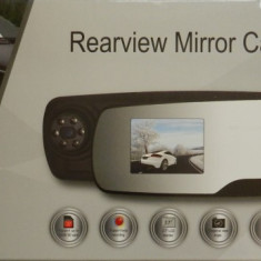 Oglinda Retrovizoare cu Camera Auto Masina DVR Video 1080P Full HD Display 2.7