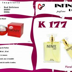 Parfum K177 Inspiratie Casa DKNY- Nume Red Delicious - Parfum femeie Dkny, Apa de parfum, 50 ml, Floral