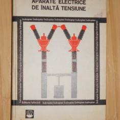 Carti Mecanica - BERCU HERSCOVICI--APARATE ELECTRICE DE INALTA TENSIUNE