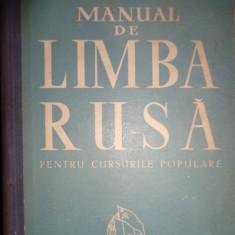 Manual de limba rusa pentru cursurile populare (748 pagini)