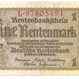 Bancnota Straine, Europa - GERMANIA 1 RENTENMARK 1937 XF