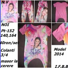 Set Tricou+colanti cu Violetta, noi, MODEL NOW-PT 140cm, Tricouri