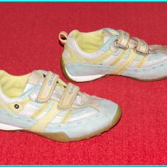 Adidasi copii Geox, Fete - DE FIRMA _ Adidasi aerisiti, comozi, piele, originali, GEOX _ fetite | nr. 30