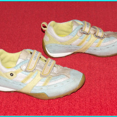 DE FIRMA _ Adidasi aerisiti, comozi, piele, originali, GEOX _ fetite | nr. 30 - Adidasi copii Geox, Culoare: Bleu, Fete