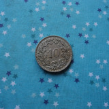 JN. 10 rappen 1921 Elvetia