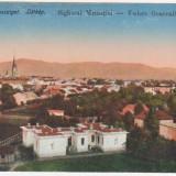 Sighetul Marmatiei, Maramures, Vedere generala, necirculata, 1917 - Carte Postala Maramures 1904-1918