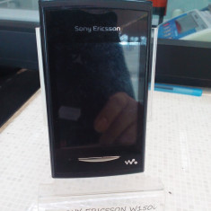Telefon mobil Sony Ericsson, Negru, <1GB, Neblocat, Single SIM, Fara procesor - SONY ERICSSON W150I, LIBERA DE RETEA (LT)