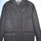 Palton barbati, Lana - Palton stofa lana, trei sferturi, marimea XXL, fabricat in Italia