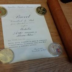Diploma/Certificat - Brevet 1964 Republica Populara Romana Gheorghe Gheorghiu Dej