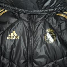 Geaca Adidas Real Madrid Marimea S - Geaca barbati Adidas, Marime: S, Culoare: Alb