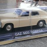 Macheta metal DeAgostini GAZ M20 Pobeda NOUA+revista Masini de Legenda nr.13